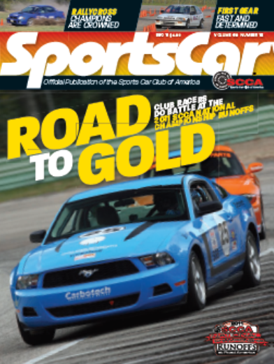 Angry Sheep Motorsports We Made The Cover Of SportsCar - Sports cars magazine