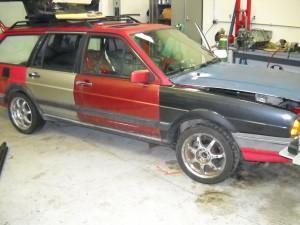1985 VW Quantum